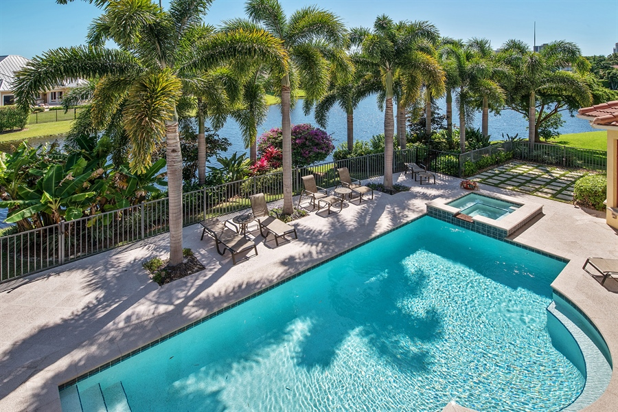 Real Estate Photography - 4800 Whispering Pine Way, Naples, FL, 34103 - View