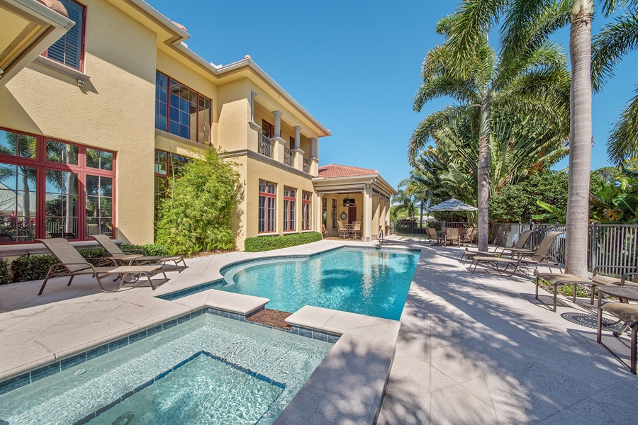 Real Estate Photography - 4800 Whispering Pine Way, Naples, FL, 34103 - Pool/Spa