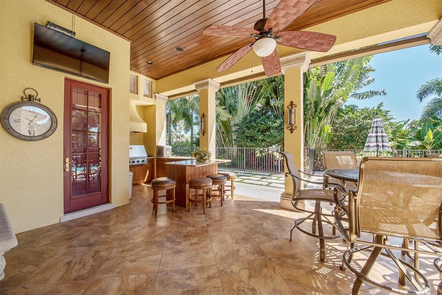 Real Estate Photography - 4800 Whispering Pine Way, Naples, FL, 34103 - Lanai