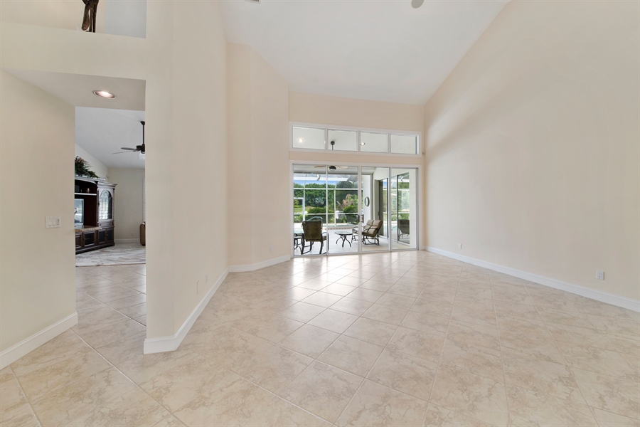 Real Estate Photography - 811 Ashburton Dr, Naples, FL, 34110 - Living Room