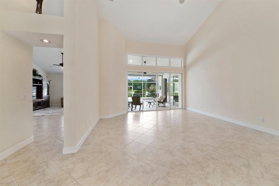 Real Estate Photography - 811 Ashburton Dr, Naples, FL, 34110 - Living Room