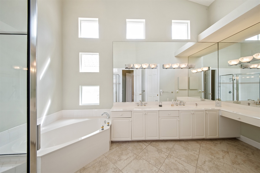 Real Estate Photography - 811 Ashburton Dr, Naples, FL, 34110 - Master Bathroom