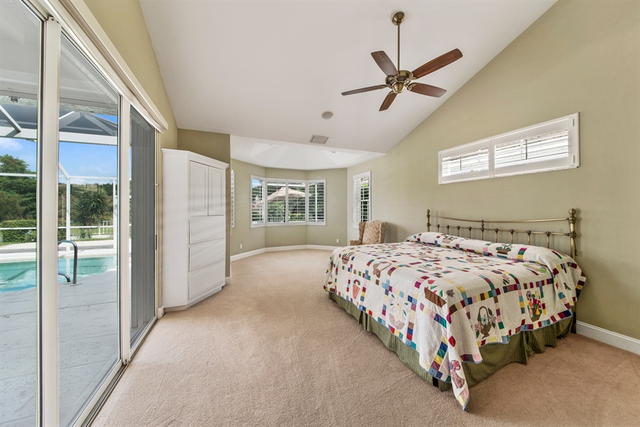 Real Estate Photography - 811 Ashburton Dr, Naples, FL, 34110 - Master Bedroom
