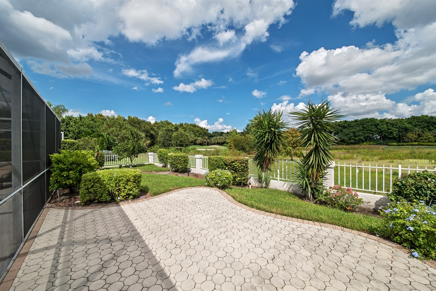 Real Estate Photography - 811 Ashburton Dr, Naples, FL, 34110 - Back Yard