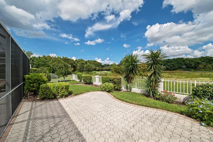 Real Estate Photography - 811 Ashburton Dr, Naples, FL, 34110 - Back Yard