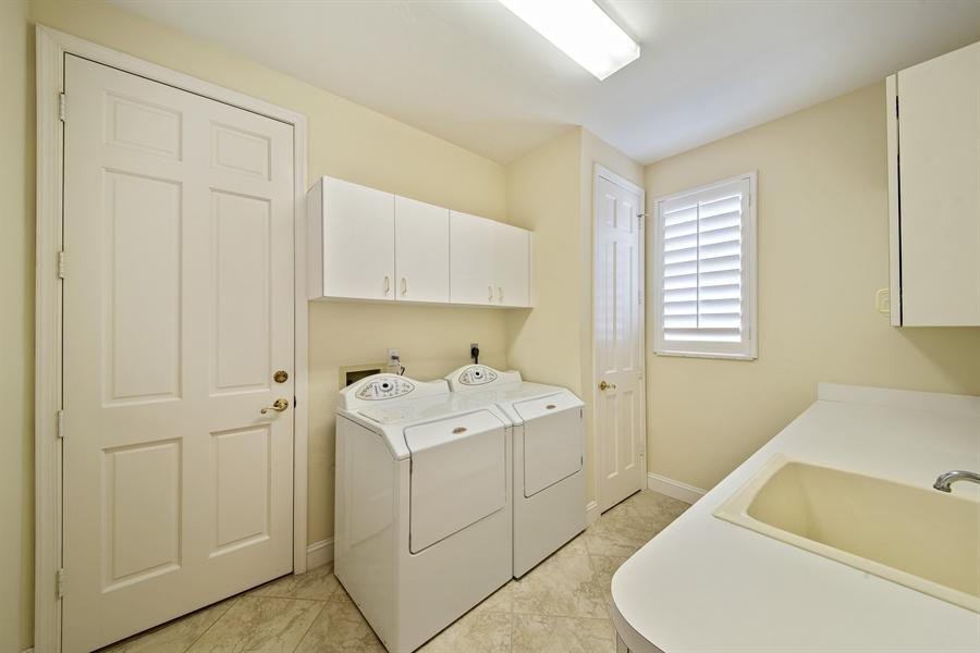 Real Estate Photography - 811 Ashburton Dr, Naples, FL, 34110 - Laundry Room