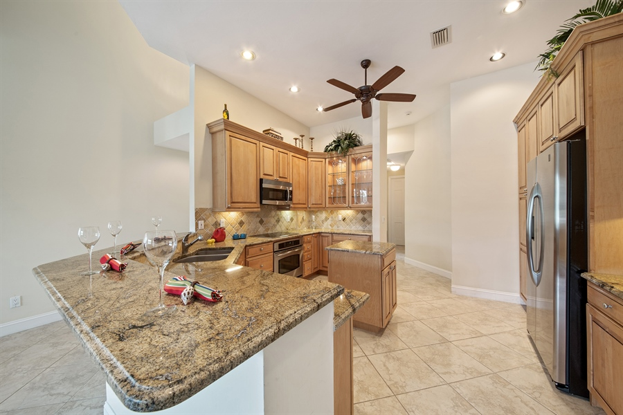 Real Estate Photography - 811 Ashburton Dr, Naples, FL, 34110 - Kitchen