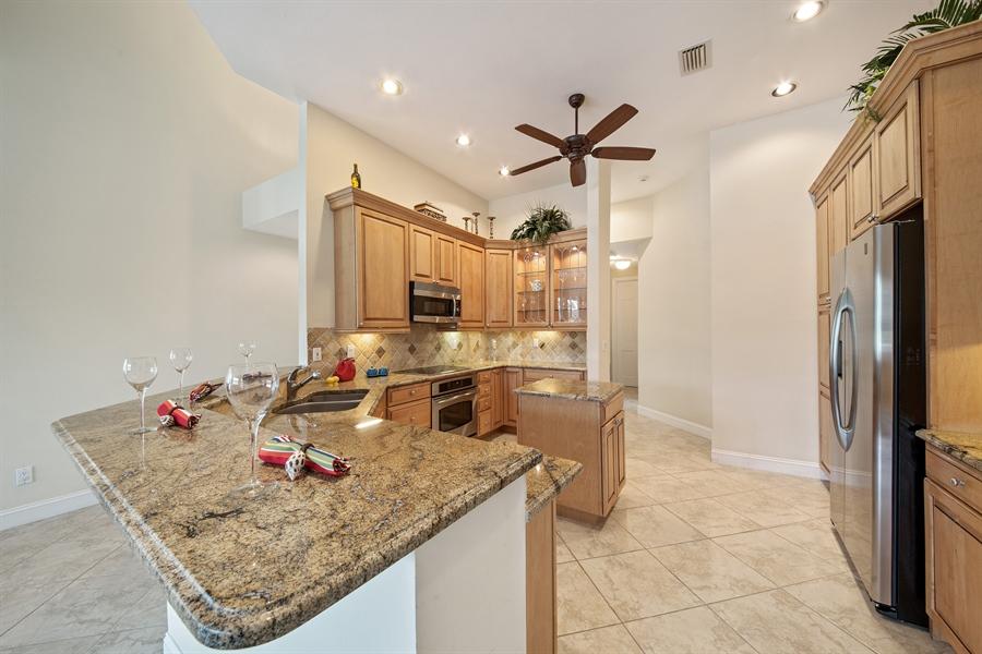 Real Estate Photography - 811 Ashburton Dr, Naples, FL, 34110 - Kitchen