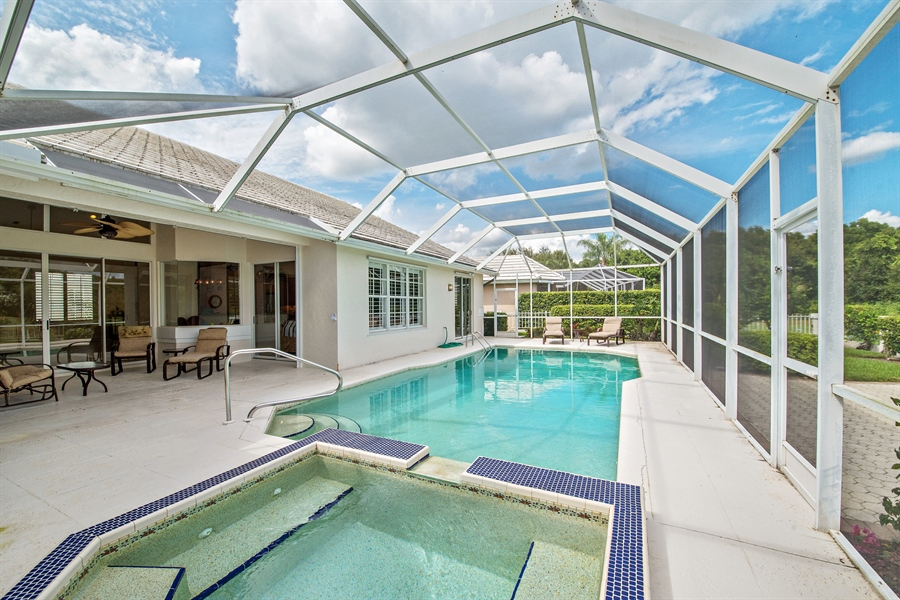 Real Estate Photography - 811 Ashburton Dr, Naples, FL, 34110 - Lanai