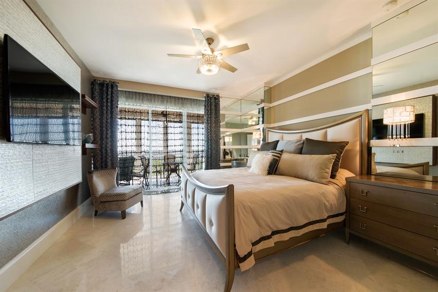 Real Estate Photography - 4851 Bonita Bay Blvd, Unit 702, Bonita Springs, FL, 34134 - Master Bedroom