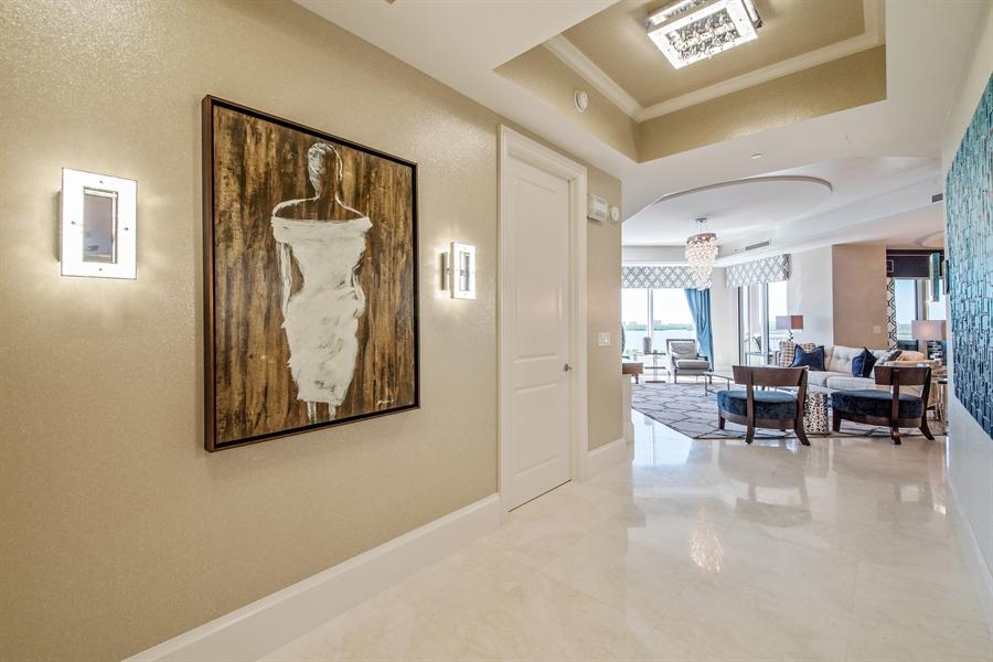 Real Estate Photography - 4851 Bonita Bay Blvd, Unit 702, Bonita Springs, FL, 34134 - View