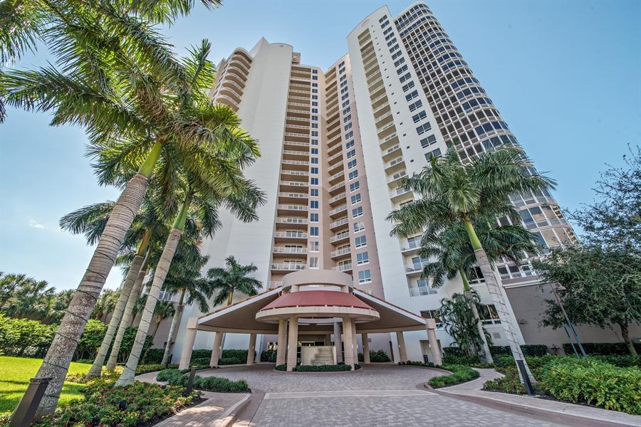 Real Estate Photography - 4851 Bonita Bay Blvd, Unit 702, Bonita Springs, FL, 34134 - Front View