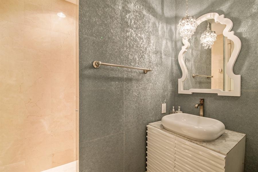 Real Estate Photography - 4851 Bonita Bay Blvd, Unit 702, Bonita Springs, FL, 34134 - 2nd Bathroom
