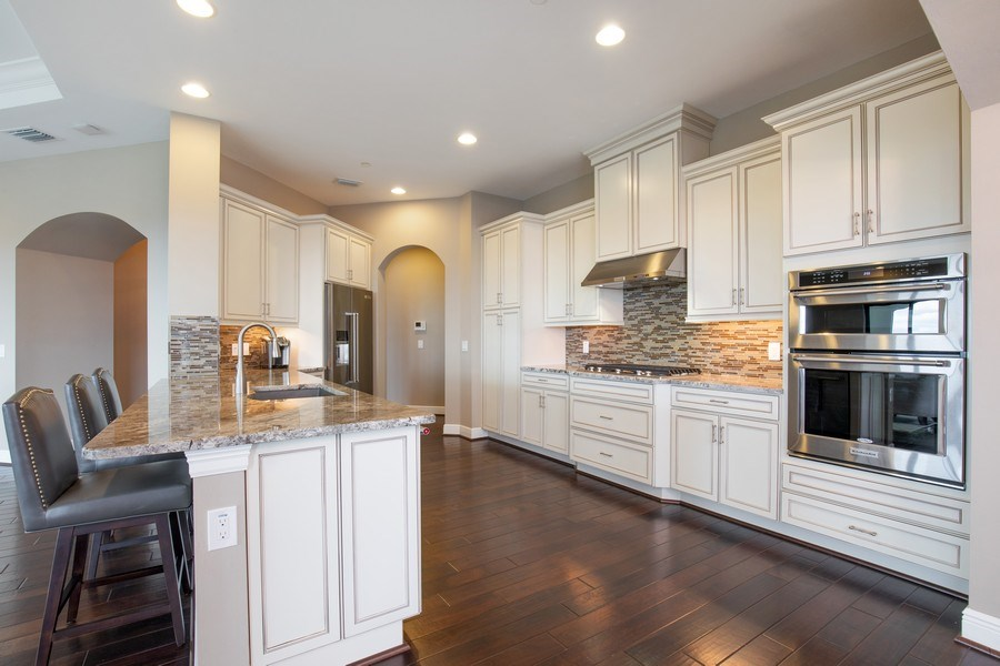 Real Estate Photography - 16433 Carrara Way #301, Naples, FL, 34110 - Kitchen