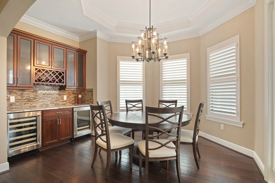 Real Estate Photography - 16433 Carrara Way #301, Naples, FL, 34110 - Dining Room