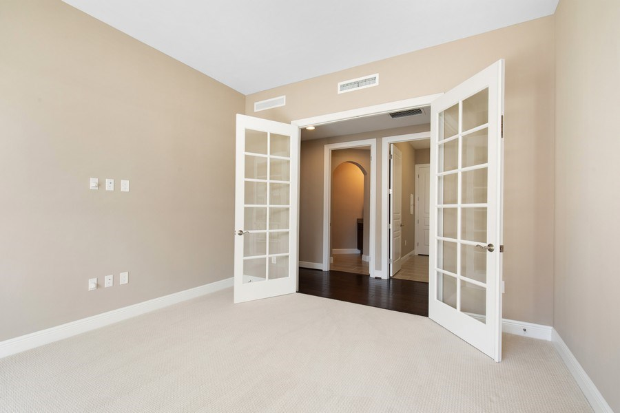 Real Estate Photography - 16433 Carrara Way #301, Naples, FL, 34110 - Den