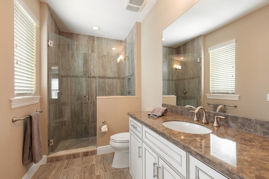 Real Estate Photography - 16433 Carrara Way #301, Naples, FL, 34110 - Bathroom