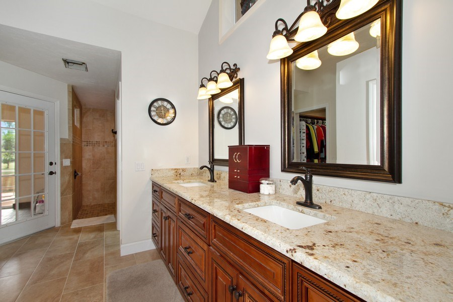 Real Estate Photography - 3480 19th Ave SW, Naples, FL, 34117 - Master Bathroom