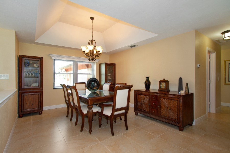 Real Estate Photography - 3480 19th Ave SW, Naples, FL, 34117 - Dining Room