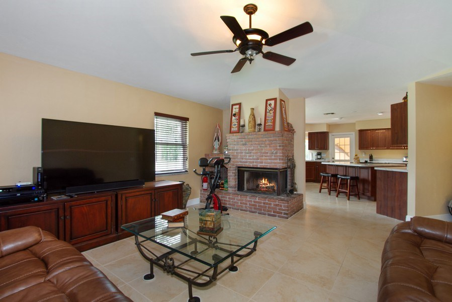 Real Estate Photography - 3480 19th Ave SW, Naples, FL, 34117 - Family Room