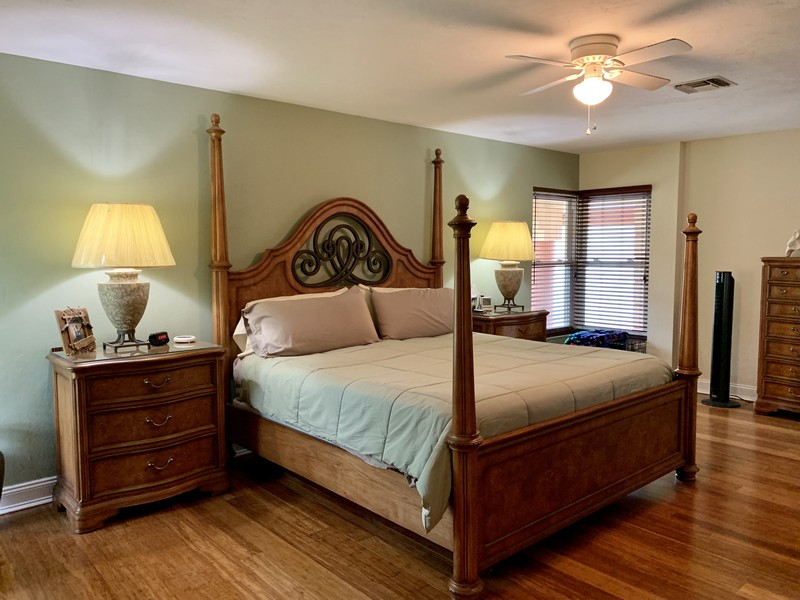 Real Estate Photography - 3480 19th Ave SW, Naples, FL, 34117 - Master bed room 2