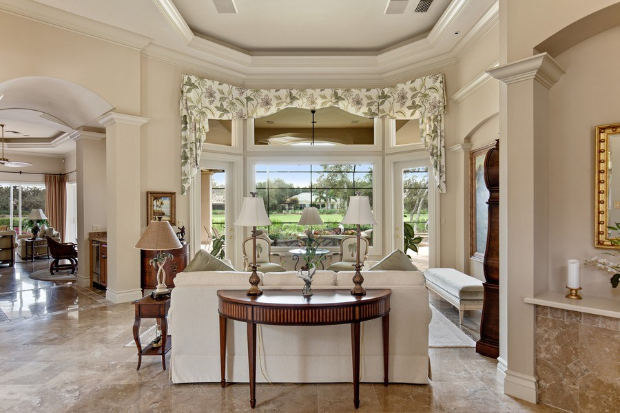 Real Estate Photography - 12266 Colliers Reserve Dr, Naples, FL, 34110 - Living Room