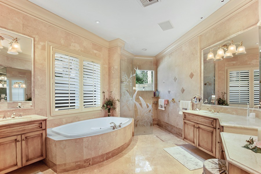 Real Estate Photography - 12266 Colliers Reserve Dr, Naples, FL, 34110 - Master Bathroom