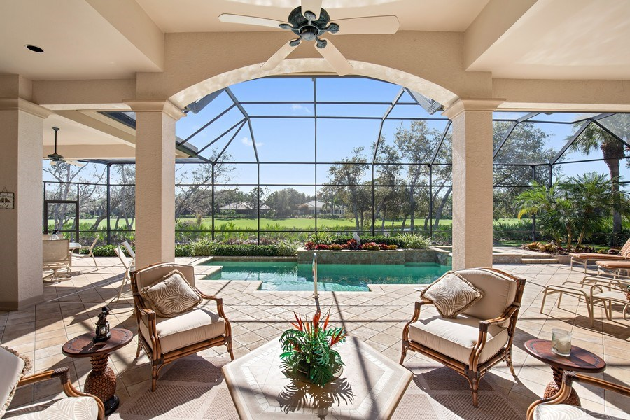 Real Estate Photography - 12266 Colliers Reserve Dr, Naples, FL, 34110 - Rear View