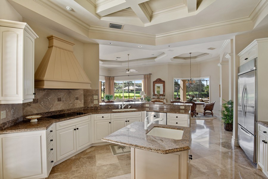 Real Estate Photography - 12266 Colliers Reserve Dr, Naples, FL, 34110 - Kitchen