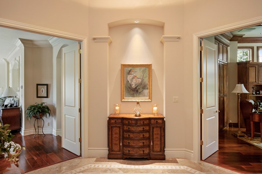 Real Estate Photography - 12266 Colliers Reserve Dr, Naples, FL, 34110 - Vestibule outside Master Bedroom and Den