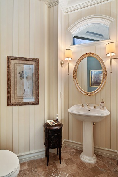 Real Estate Photography - 12266 Colliers Reserve Dr, Naples, FL, 34110 - Powder Room