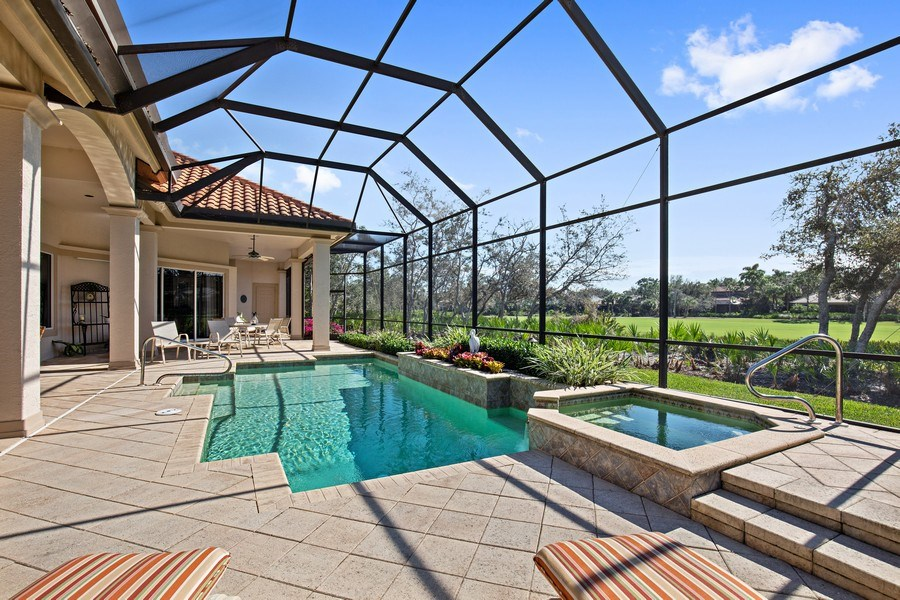 Real Estate Photography - 12266 Colliers Reserve Dr, Naples, FL, 34110 - Pool