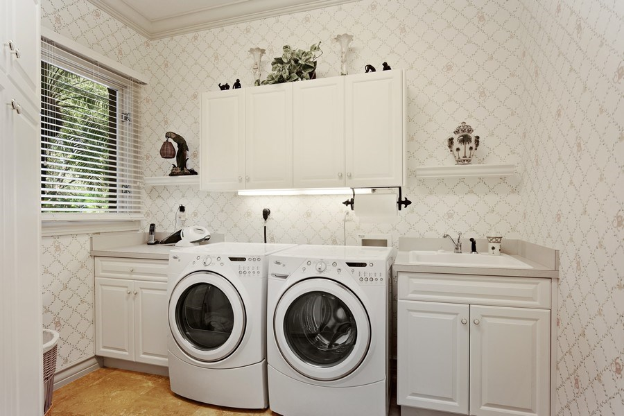 Real Estate Photography - 12266 Colliers Reserve Dr, Naples, FL, 34110 - Laundry Room