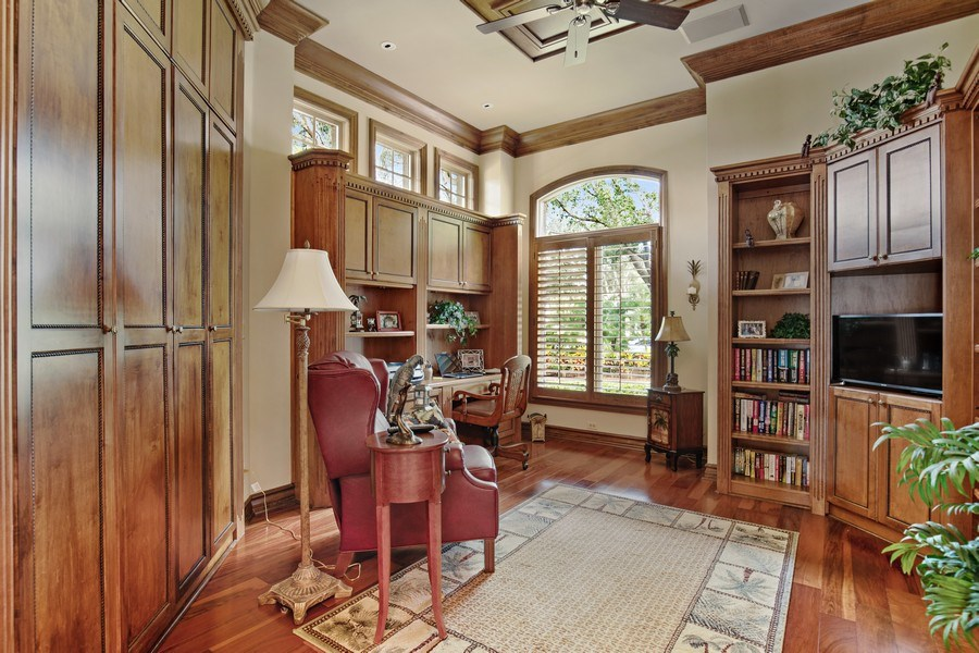 Real Estate Photography - 12266 Colliers Reserve Dr, Naples, FL, 34110 - Office/Den
