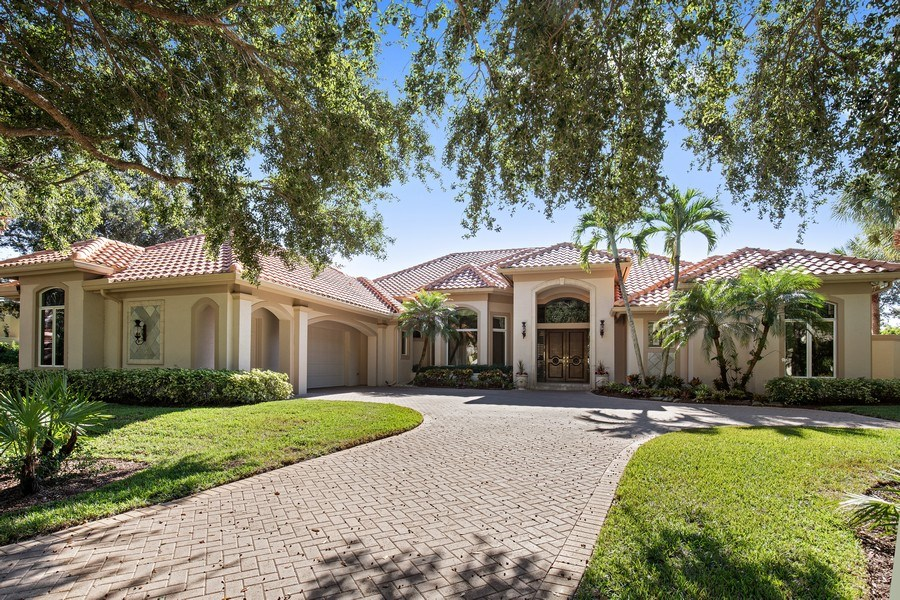Real Estate Photography - 12266 Colliers Reserve Dr, Naples, FL, 34110 - Front View