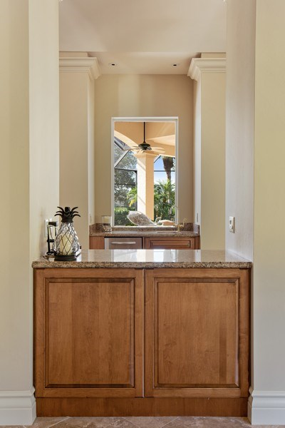 Real Estate Photography - 12266 Colliers Reserve Dr, Naples, FL, 34110 - Bar
