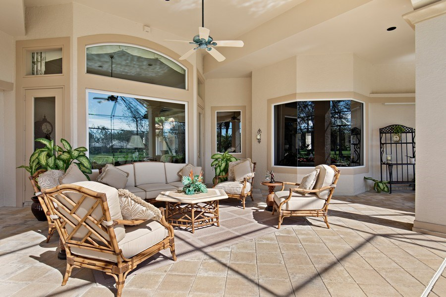Real Estate Photography - 12266 Colliers Reserve Dr, Naples, FL, 34110 - Lanai