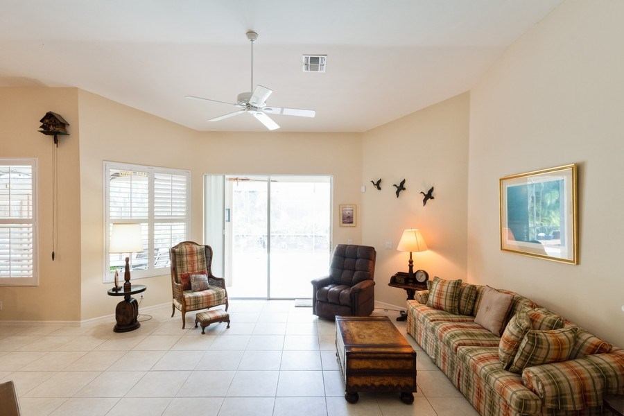 Real Estate Photography - 366 Burnt Pine Drive, Naples, FL, 34119 - Living Room