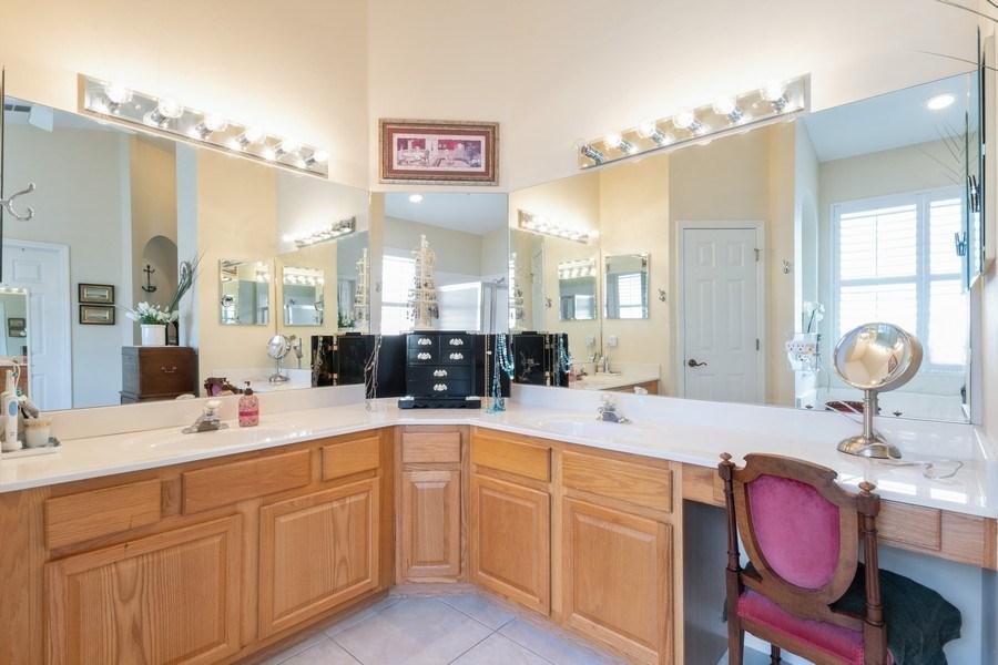 Real Estate Photography - 366 Burnt Pine Drive, Naples, FL, 34119 - Master Bathroom