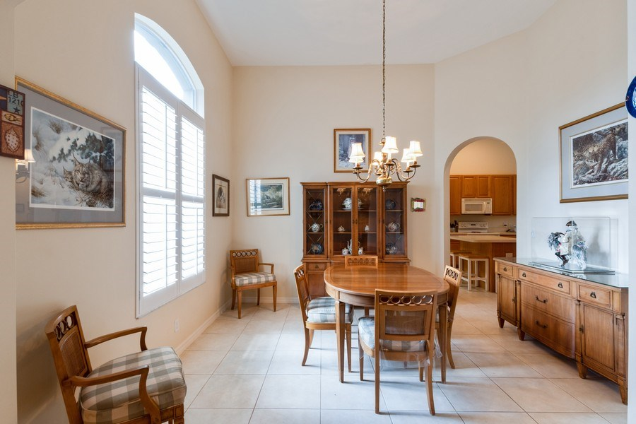 Real Estate Photography - 366 Burnt Pine Drive, Naples, FL, 34119 - Dining Room