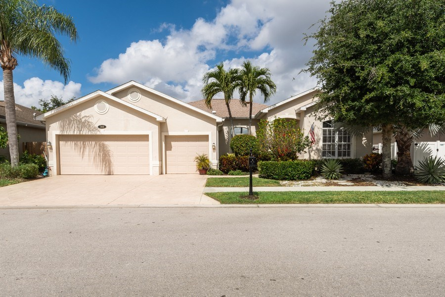 Real Estate Photography - 366 Burnt Pine Drive, Naples, FL, 34119 - Front View