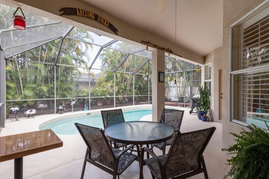 Real Estate Photography - 366 Burnt Pine Drive, Naples, FL, 34119 - Patio