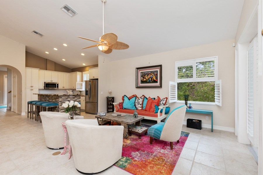 Real Estate Photography - 636 102nd Ave N, Naples, FL, 34108 - Living Room