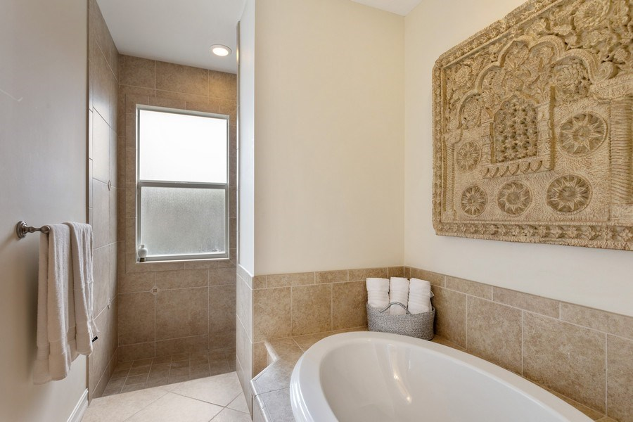 Real Estate Photography - 636 102nd Ave N, Naples, FL, 34108 - Master Bathroom