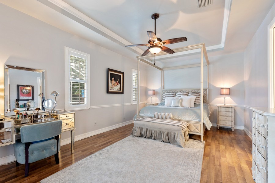 Real Estate Photography - 636 102nd Ave N, Naples, FL, 34108 - Master Bedroom
