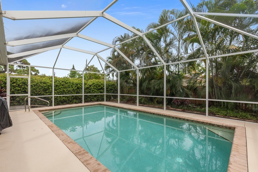Real Estate Photography - 636 102nd Ave N, Naples, FL, 34108 - Pool
