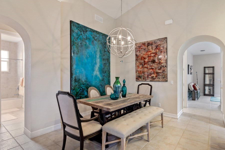Real Estate Photography - 636 102nd Ave N, Naples, FL, 34108 - Dining Room