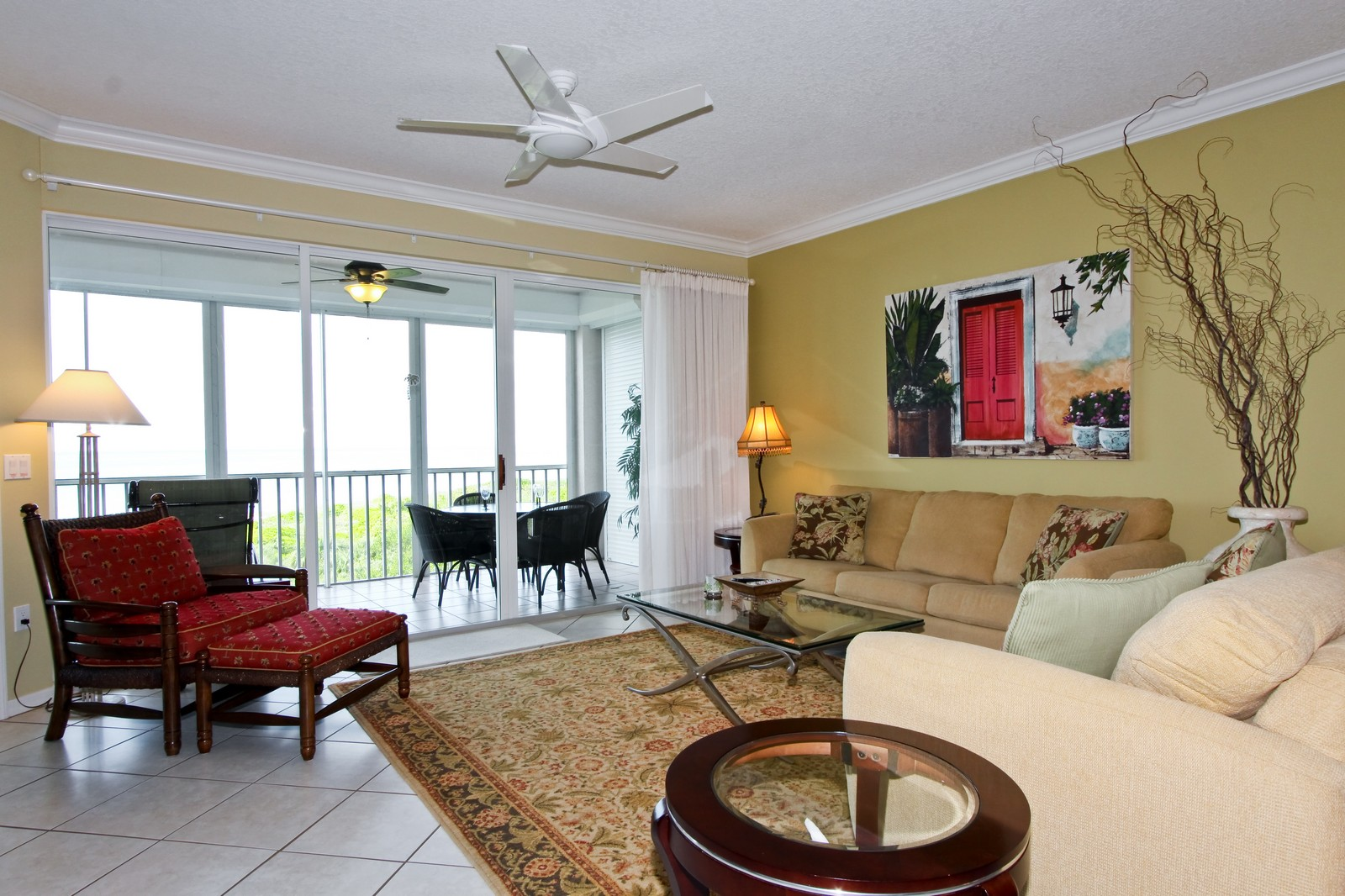 Real Estate Photography - 265 Barefoot Beach, Unit 303, Bonita Springs, FL, 34134 - Living Room
