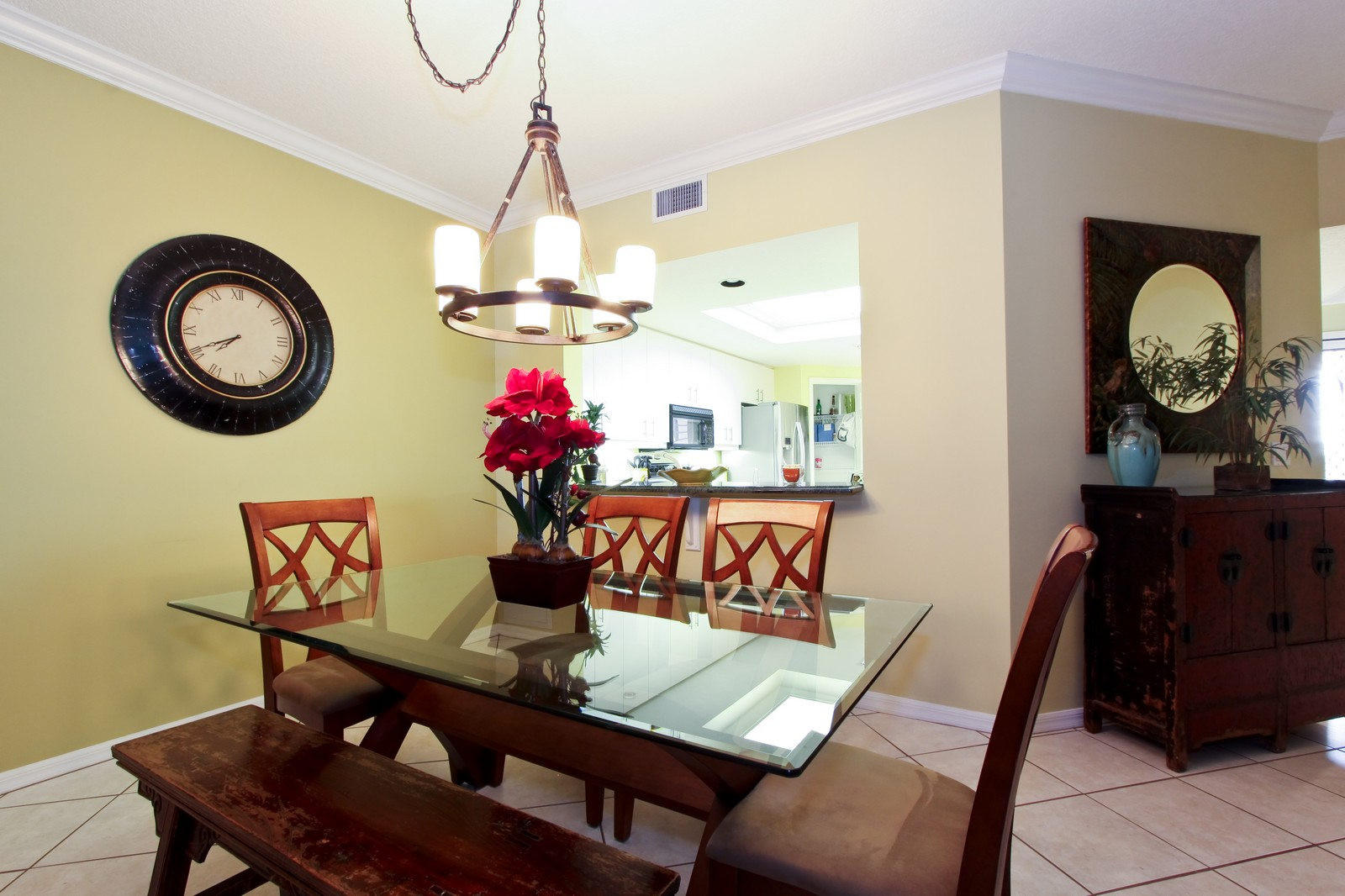 Real Estate Photography - 265 Barefoot Beach, Unit 303, Bonita Springs, FL, 34134 - Dining Room