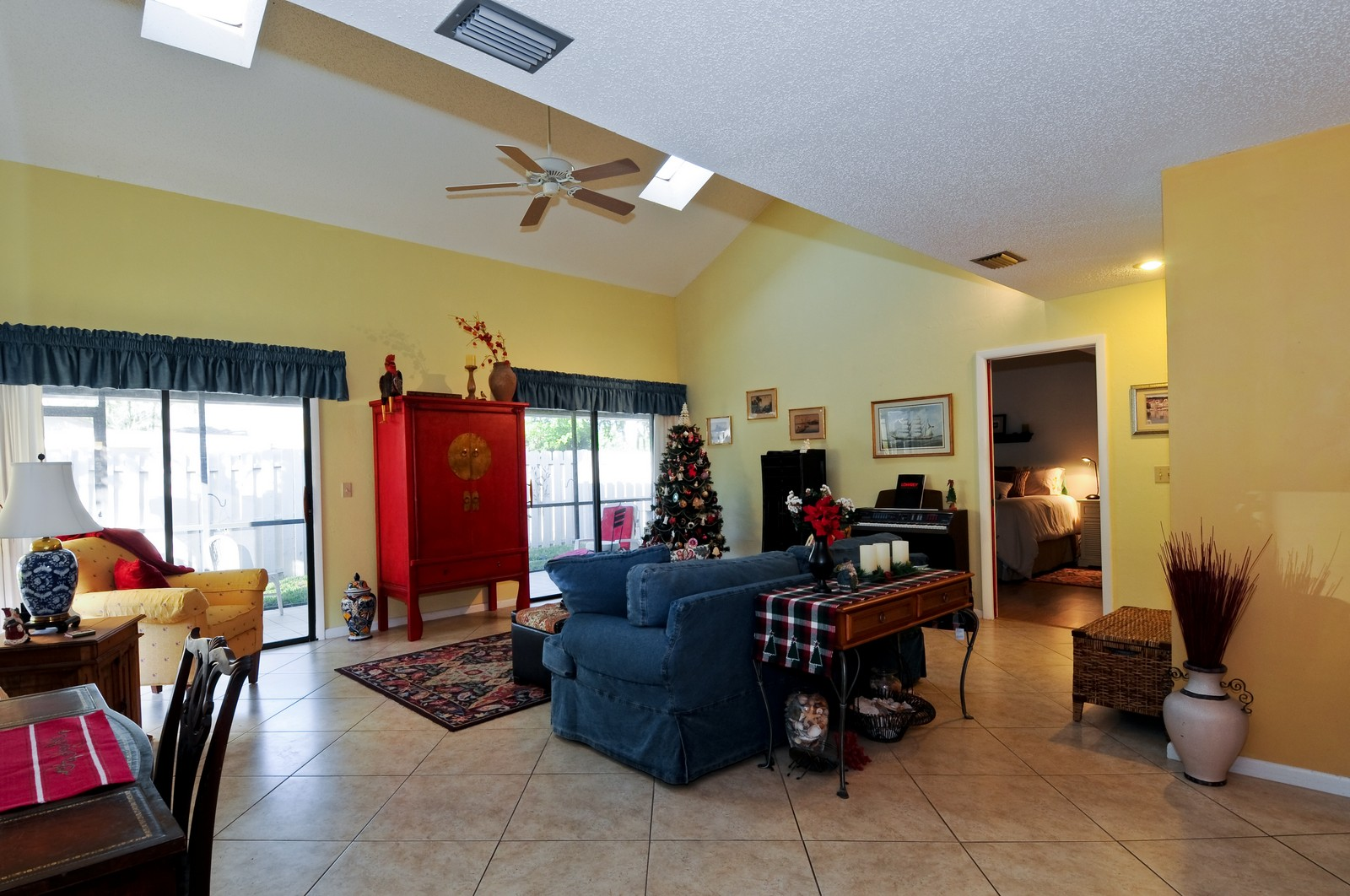 Real Estate Photography - 795 Meadowland Dr., A, Naples, FL, 34108 - Living Room